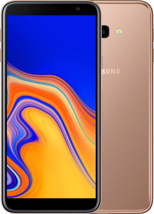 Smartphone Mobilný telefón Samsung Galaxy J4 PLUS 2GB/32GB, zlatá