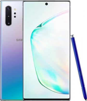 Smartphone Mobilný telefón Samsung Galaxy Note 10+ 12GB/256GB, strieborná