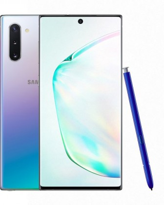 Smartphone Mobilný telefón Samsung Galaxy Note 10 8GB/256GB, strieborná