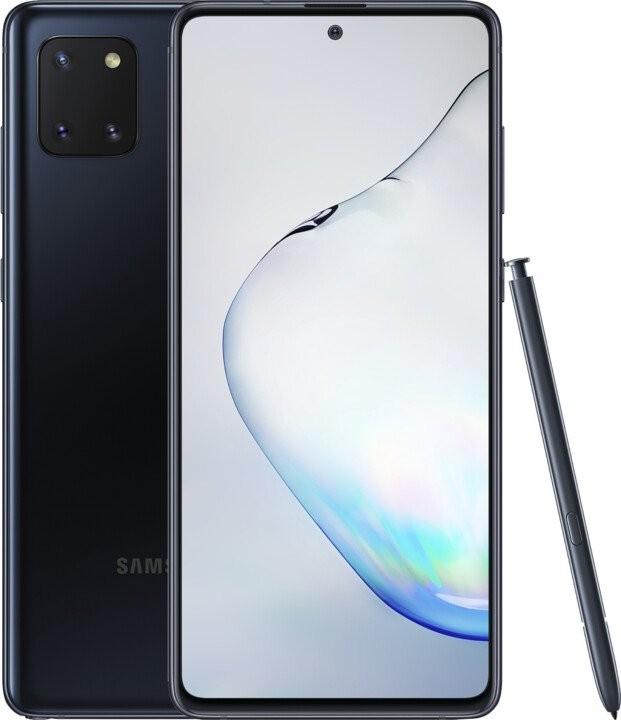 Smartphone Mobilný telefón Samsung Galaxy Note 10 Lite 6GB/128GB, čierna POU