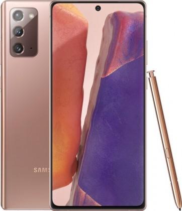 Smartphone Mobilný telefón Samsung Galaxy Note 20 8GB/256GB, bronzová
