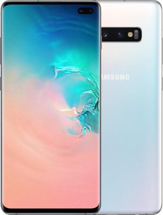 Smartphone Mobilný telefón Samsung Galaxy S10 Plus, 8GB/128GB, biela