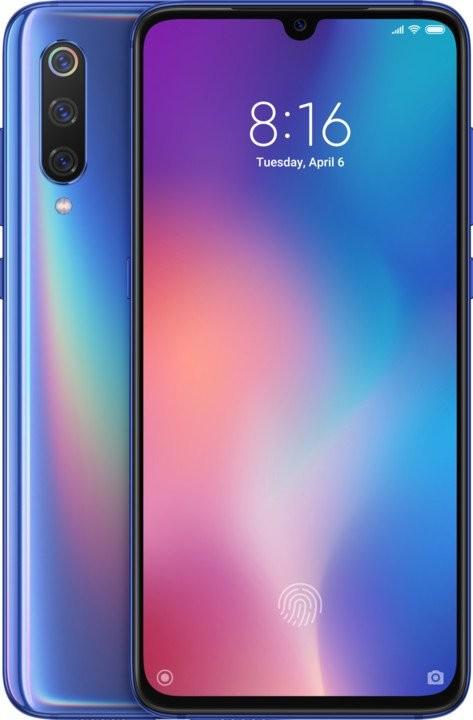 Smartphone Mobilný telefón Xiaomi Mi 9 6GB/128GB, modrá