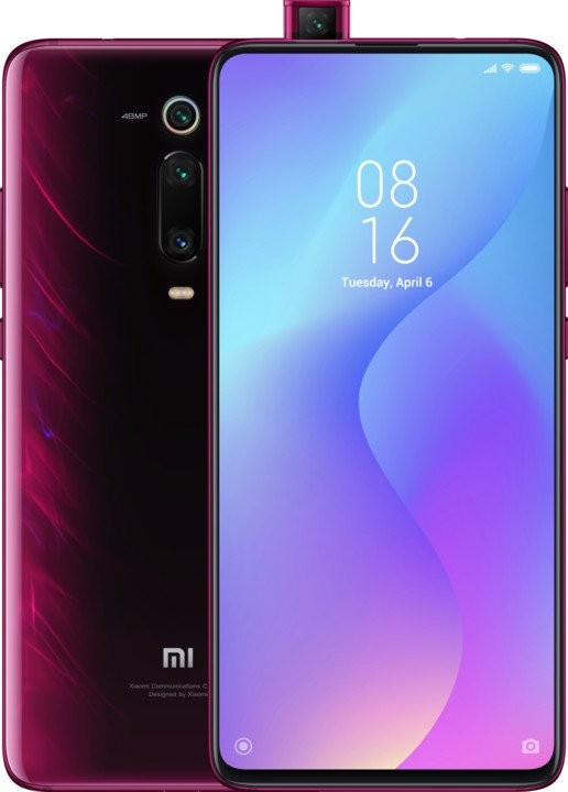 Smartphone Mobilný telefón Xiaomi Mi 9T 6GB/64GB, červená