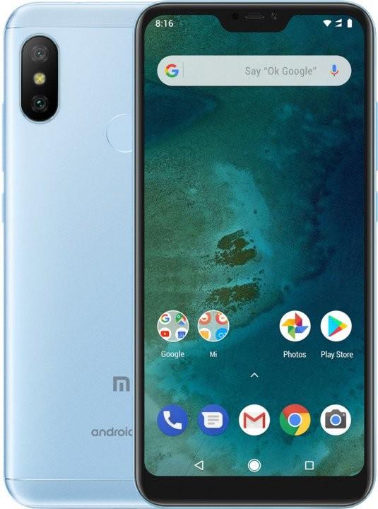 Smartphone Mobilný telefón Xiaomi Mi A2 LITE 4GB/64GB, modrá