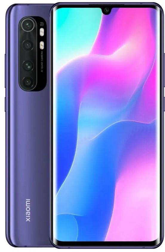 Smartphone Mobilný telefón Xiaomi Mi Note 10 Lite 6GB/64GB, fialová