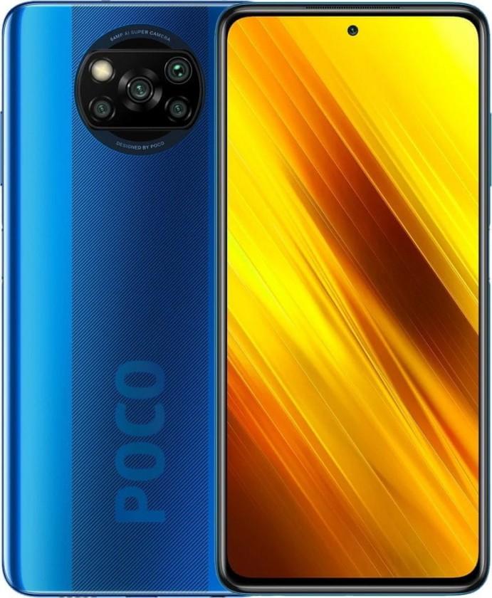 Smartphone Mobilný telefón Xiaomi Poco X3 6GB/128GB, modrá