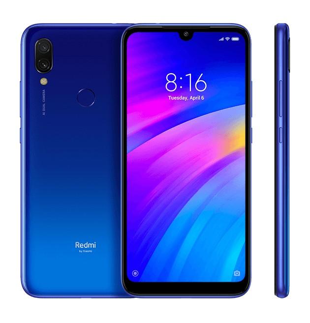 Smartphone Mobilný telefón Xiaomi Redmi 7, 2GB/16GB, modrá
