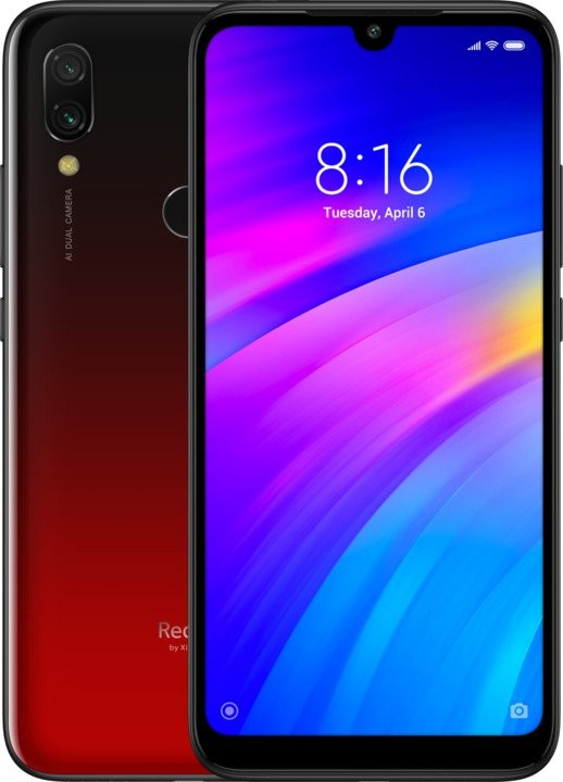 Smartphone Mobilný telefón Xiaomi Redmi 7 3GB/32GB, červená