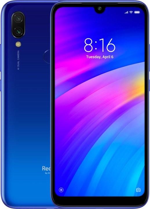 Smartphone Mobilný telefón Xiaomi Redmi 7 3GB/32GB, modrá
