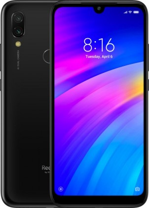 Smartphone Mobilný telefón Xiaomi Redmi 7, 3GB/64GB, čierna