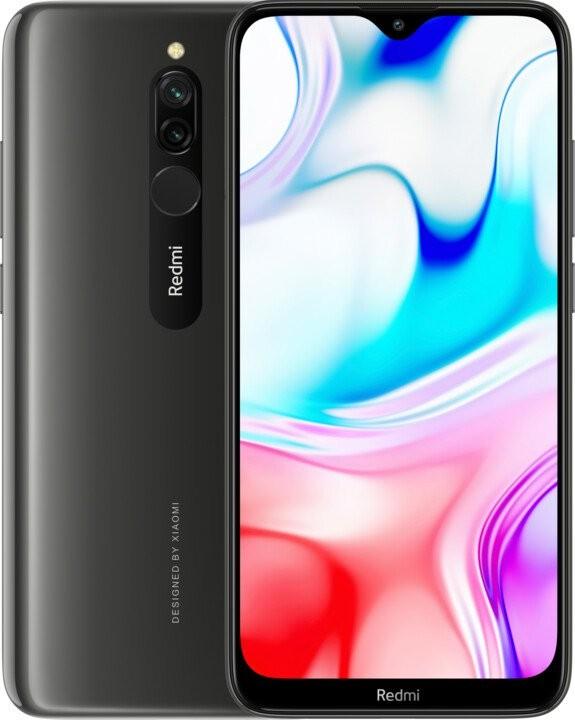 Smartphone Mobilný telefón Xiaomi Redmi 8 3GB/32GB, čierna