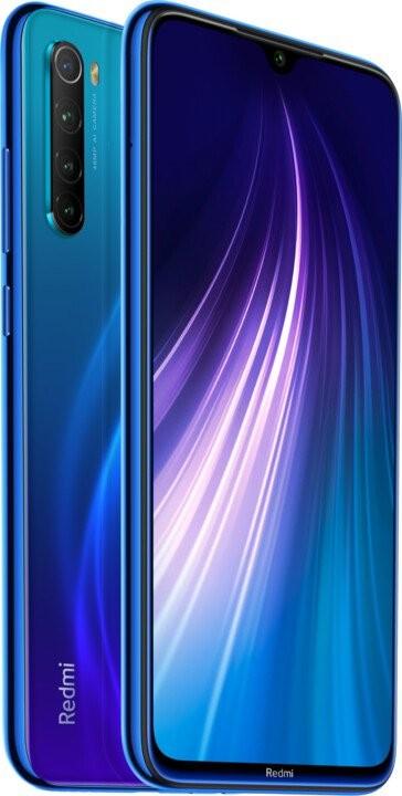 Smartphone Mobilný telefón Xiaomi Redmi Note 8T 4GB/128GB, modrá