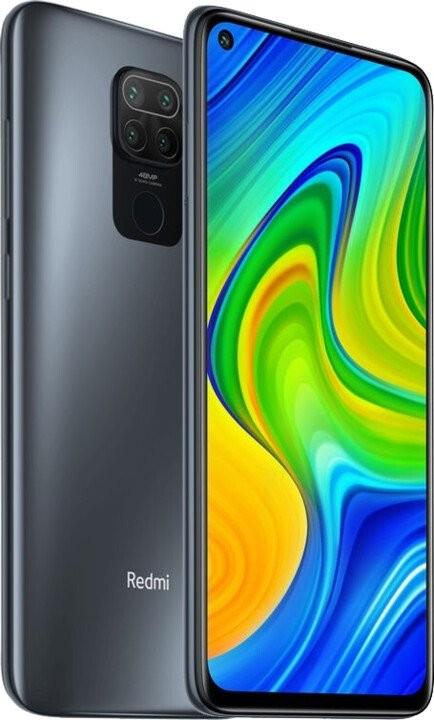 Smartphone Mobilný telefón Xiaomi Redmi Note 9 4GB/128GB, čierna