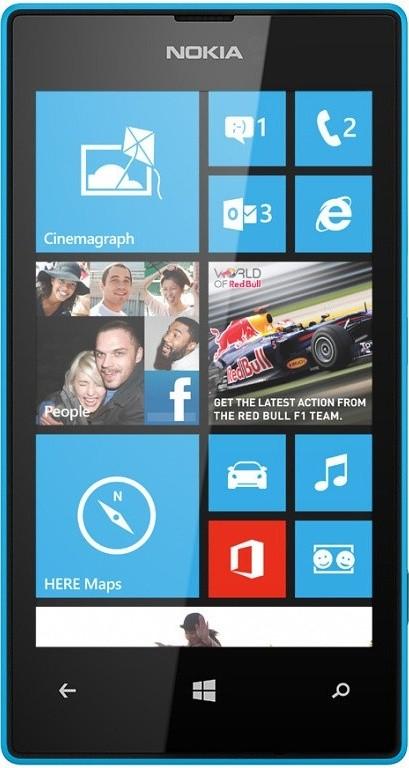 Smartphone NOKIA Lumia 520 Cyan ROZBALENO