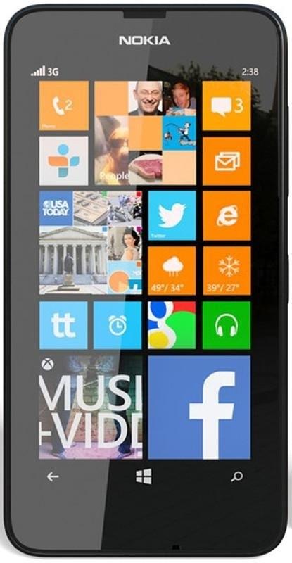 Smartphone Nokia Lumia 630 Black
