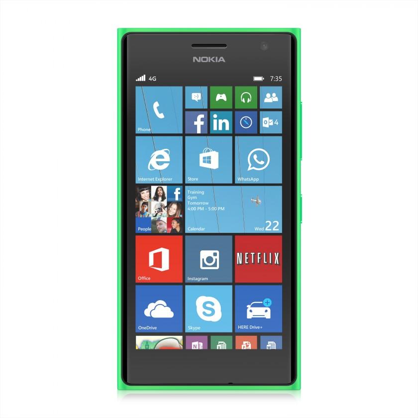 Smartphone Nokia Lumia 735 Bright Green