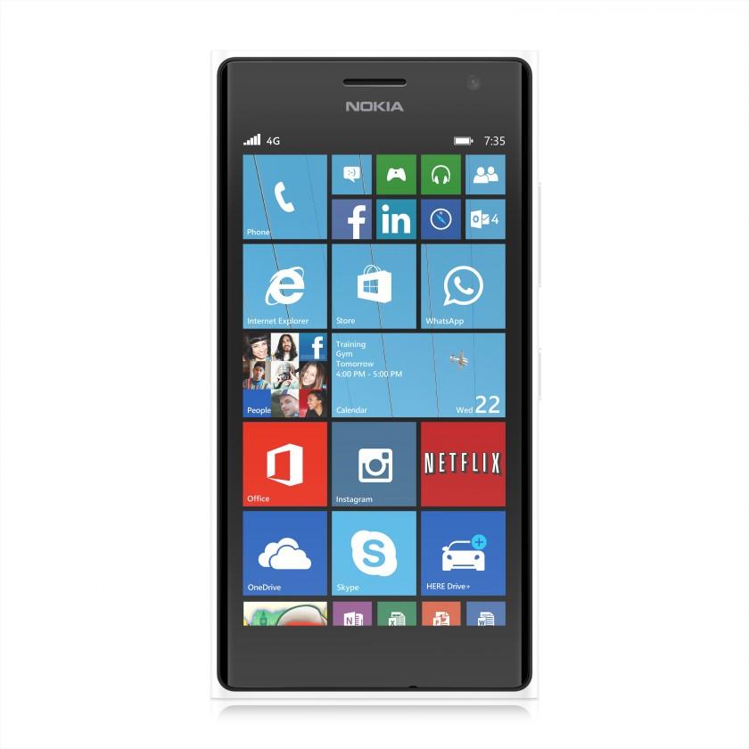Smartphone Nokia Lumia 735 White ROZBALENO