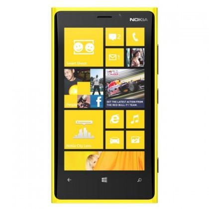 Smartphone  NOKIA Lumia 820 Yellow