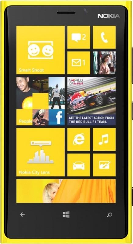 Smartphone  NOKIA Lumia 920 Yellow