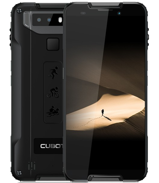 Smartphone Odolný telefón Cubot Quest 4GB/64GB, čierna