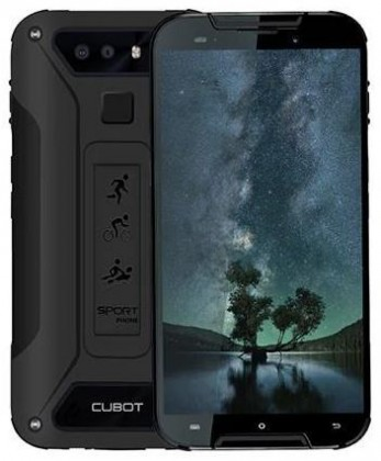 Smartphone Odolný telefón Cubot Quest Lite 3GB/32GB, čierna