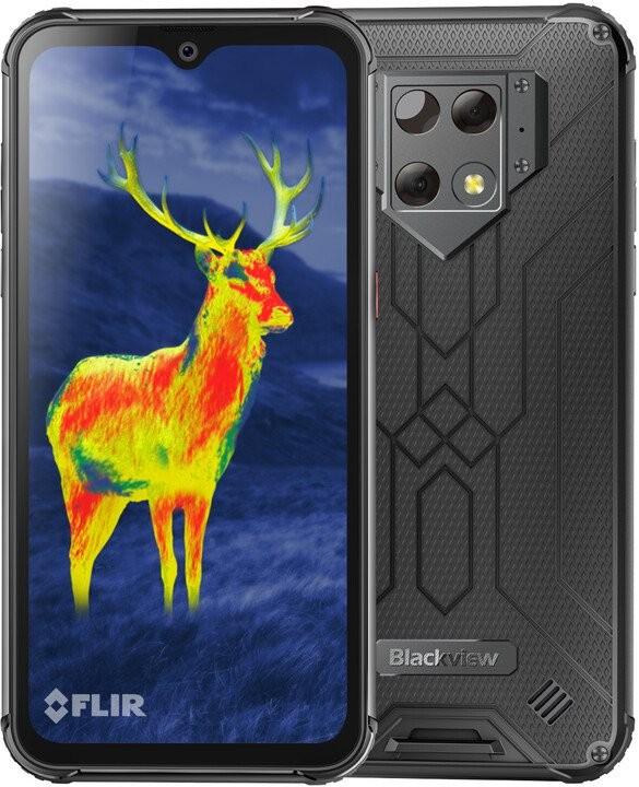 Smartphone Odolný telefón iGET Blackview GBV9800 Pro Thermo 6/128GB, strieb