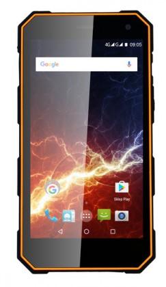 Smartphone Odolný telefón myPhone Hammer ENERGY 2GB/16GB, čierna/oranžová