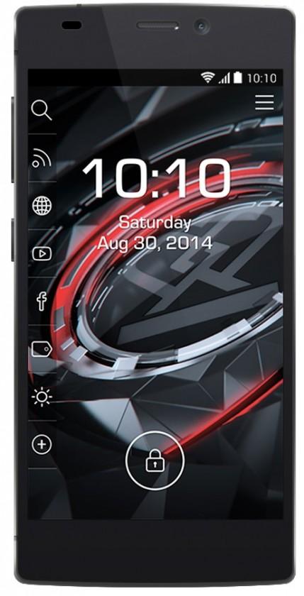 Smartphone Prestigio MultiPhone 7557 Grace čierny
