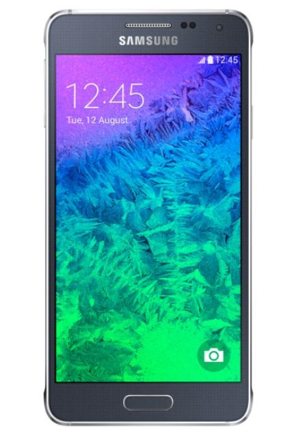 Smartphone Samsung G850 Galaxy Alpha Black