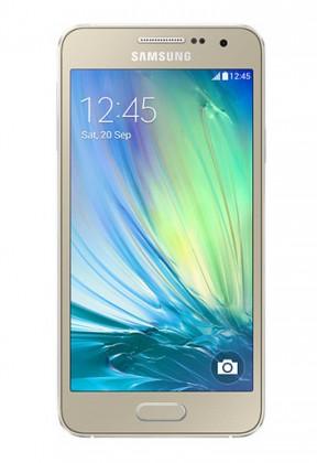 Smartphone Samsung Galaxy A3 (zlatá, 16 GB)