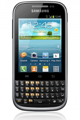 Smartphone Samsung Galaxy Ch@t (B5330), čierny