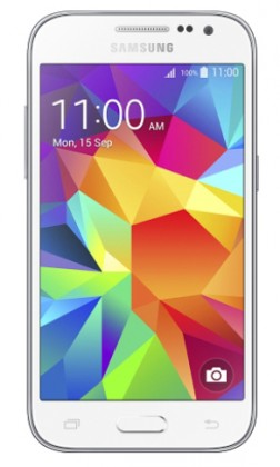 Smartphone Samsung Galaxy Core Prime, biely