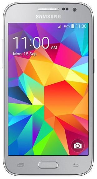 Smartphone Samsung Galaxy Core Prime, sivý