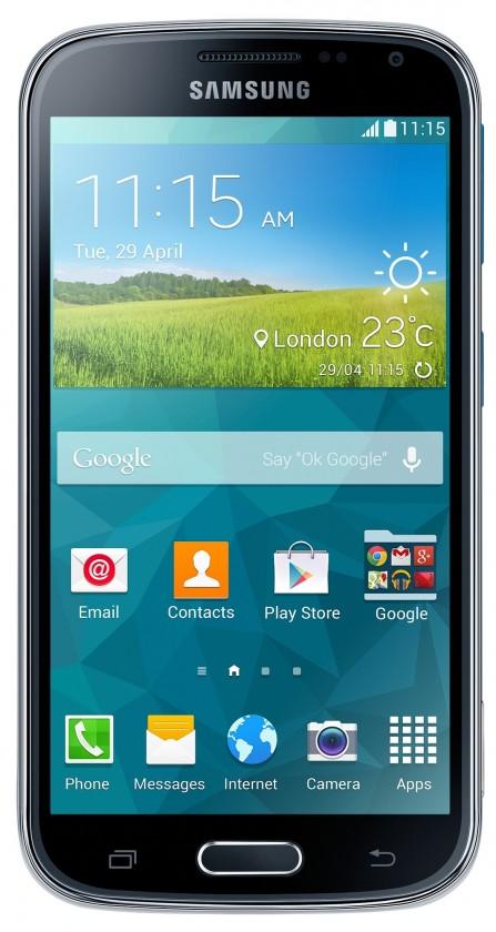 Smartphone Samsung Galaxy K Zoom (SM-C115), modrý
