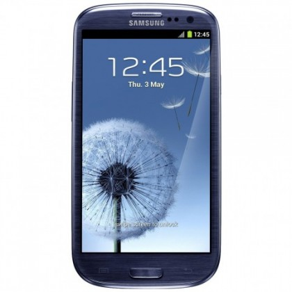 Smartphone Samsung Galaxy S III (i9300), modrý ROZBALENO