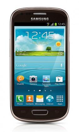 Smartphone Samsung Galaxy S III mini (i8190), hnedý
