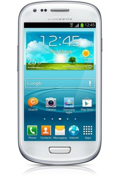 Smartphone Samsung Galaxy S III mini (i8200), biely
