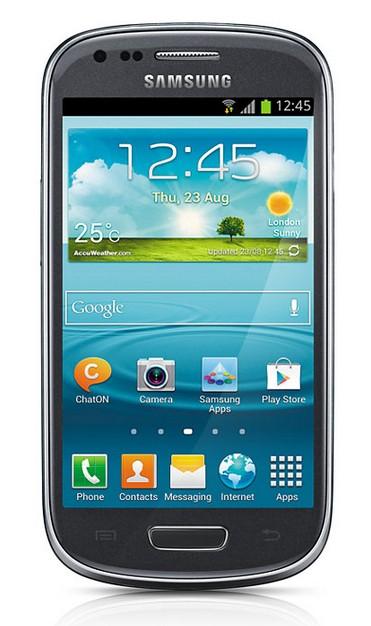 Smartphone Samsung Galaxy S III mini (i8200), šedý ROZBALENO