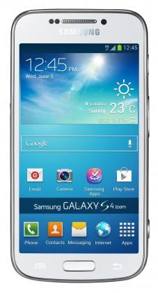 Smartphone Samsung Galaxy S4 Zoom (SM-C1010), biely