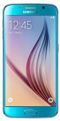 Smartphone Samsung Galaxy S6 (64 GB) modrý