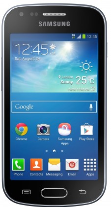 Smartphone Samsung Galaxy Trend Plus (S7580), čierny