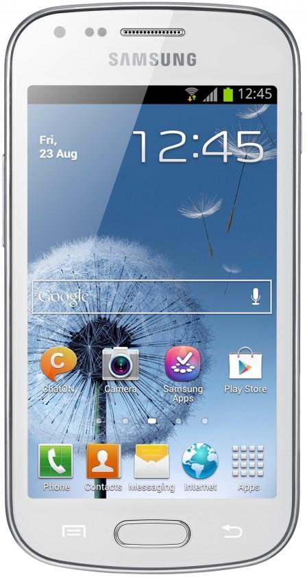 Smartphone Samsung Galaxy Trend (S7560), biely