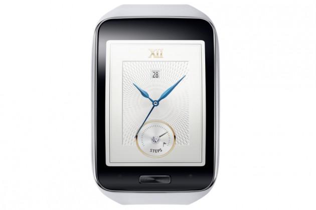 Smartphone Samsung Gear S bíle