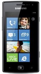 Smartphone Samsung Omnia W (i8350), čierny