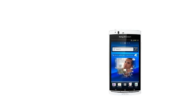 Smartphone  Sony Ericsson Xperia ARC S Pure White