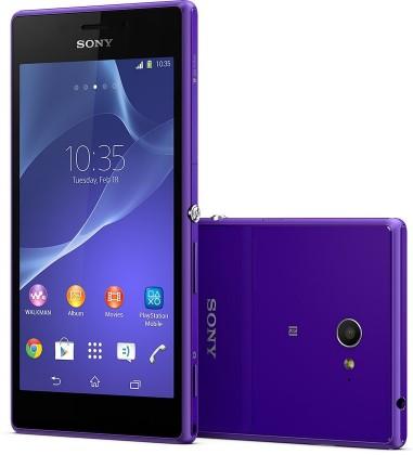 Smartphone Sony Xperia M2 D2303 Purple