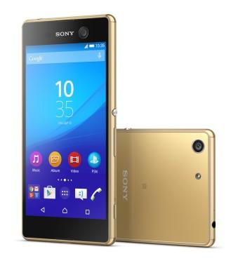 Smartphone Sony Xperia M5 E5603 zlatý