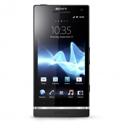 Smartphone  Sony Xperia S Black