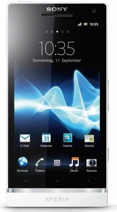 Smartphone  Sony Xperia S White